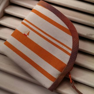 Hold the zipper bag ~ Orange sailing