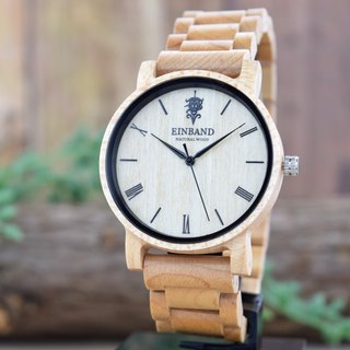 EINBAND Reise Maplewood 40mm Wooden Watch