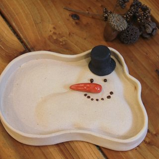 "Snow-melted plate 【The series of "" Snowy ""】"