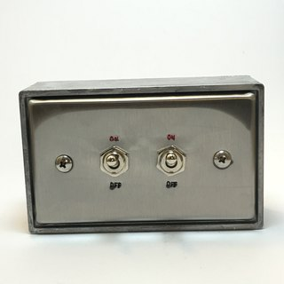 Edison-industry retro industrial style LOFT industrial switch two dimensions (steel seal series)