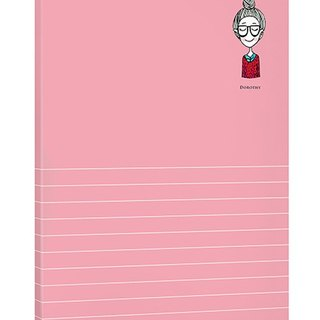 Dorothy May notepad simple universal - red (9AAAU0006)