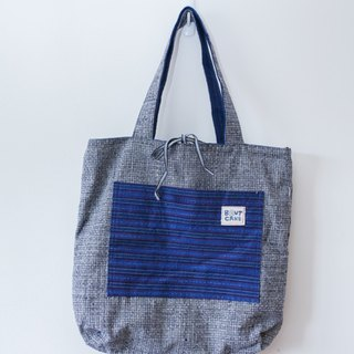 Brut Cake handmade fabric - inside out reversible hand / shoulder bag (1) , big capacity, causal, eco friendly