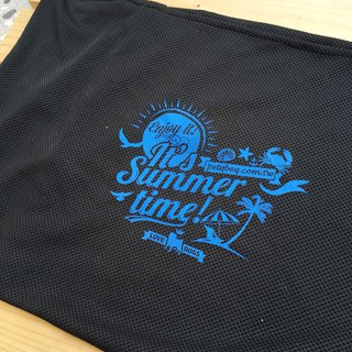 Black summer beach cool cloth cover (requires use with cool pad)