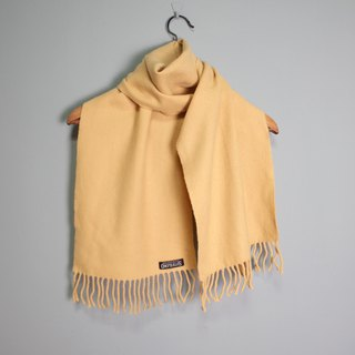 FOAK Vintage Omphalos Goose Yellow Scarf