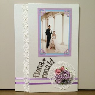 【Manual】 Marriage certificate set / certificate folder