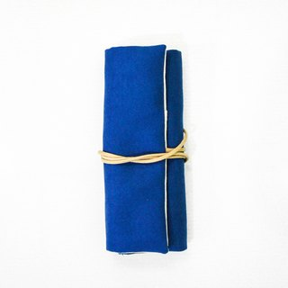 S,HU - Pencil roll(royal blue)
