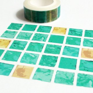 Masking Tape Versailles Bath Tiles