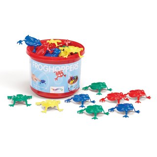 """VIKINGTOYS"" jumping frog 12 group"