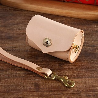 [tangent pie] hand-sewn leather cute bucket bucket purse color models