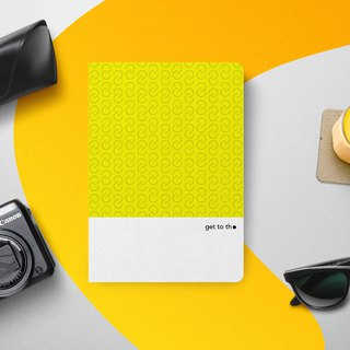 get to the point - A5 idea sketchbook - Yellow