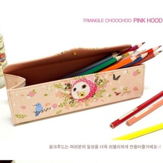 Jetoy, choo choo sweet cat Golden Triangle dazzling pencil cases _Pink hood (J1410803)