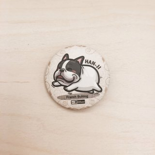 One God Act Dooji Series Badge【憨 Ji Feifei】
