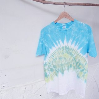 Tie dye/T-shirt/Garment/Custom size/Men/Women :Arashi Yama: