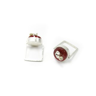 READ Dazzling Mushrooms Long | Red Agate Mushrooms 925 sterling silver party ring