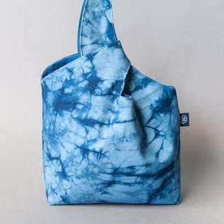 Simple Blue Dye Bag - Kaleidoscope on the Water