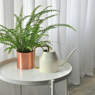 Pure copper flower pot / straight pot / small