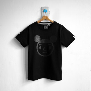 [BestFriend] Jumbo GirlFriend Logo T-Shirt / 03-BLACK