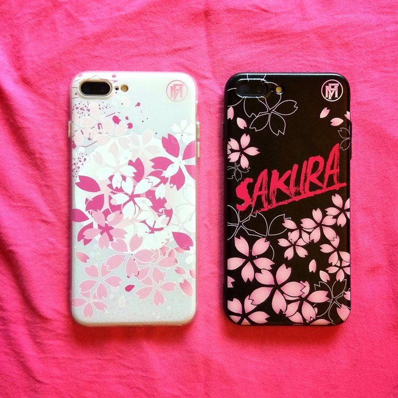 "Flame ""cherry blossom season Limited"" Phone Case"