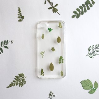 Fresh Breeze :: Kale : pressed flower phonecase