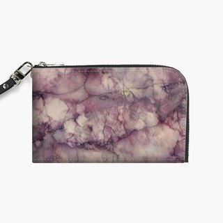 Snupped Isotope - Waterproof Mobile Phone Bag - Crimson Marble