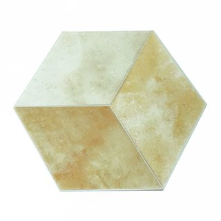 Japan KAMOI mt CASA sheet Hexagon and paper stickers [Clay Tiles (MT03WSH003)]