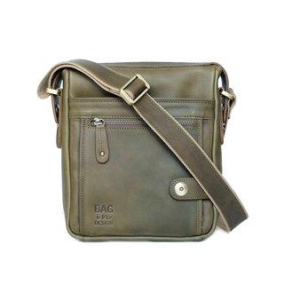 Men Satchel, Shoulder Bag, Admin Military Veg.Version Crossbody bag