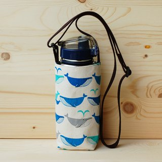 Whale water back adjustable kettle bag