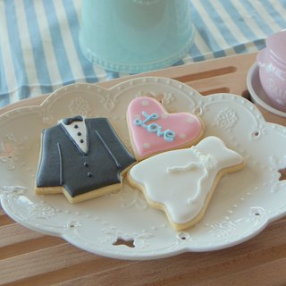 [NIJI Cupcake] wedding series suit dress gift box (3 into)