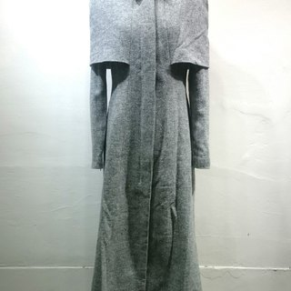 Sample sale Japan handsome wool coat Long Galaxy Star
