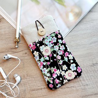 iPhone sleeve, iPhone pouch, Samsung Galaxy S8, Galaxy note 8, cell phone, ipod classic touch sleeve (P-222)