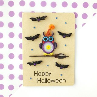 Hand made decorative cards-Happy Halloween
