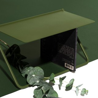 FlipUp / flip rack - olive green CD rack