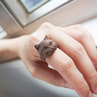 3D Print ~ Exotic short-haired cat Ring