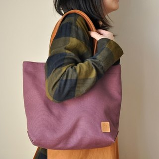 HB08 in canvas bag - Purple Off