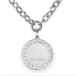 The only 304 stainless steel necklace - diamond ring card ((send lettering service))
