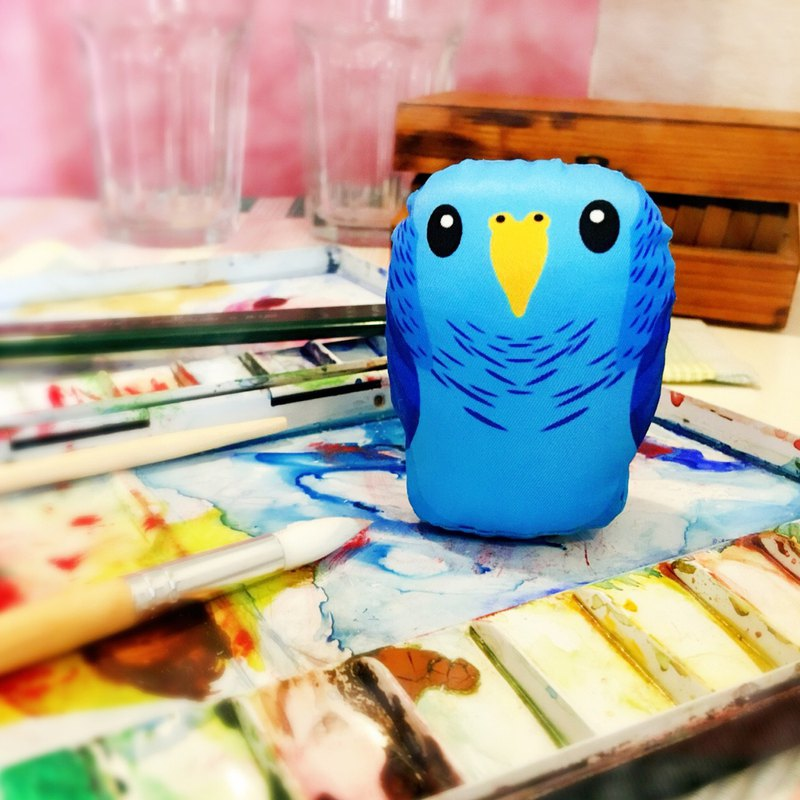 DIY手作鸚鵡 ∣ 橫斑鸚鵡 Barred ‧ 紙鎮手作材料包