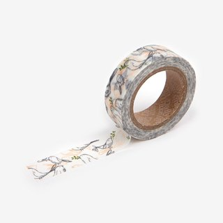 Dailylike single roll of paper tape -61 Silent Birds, E2D41300