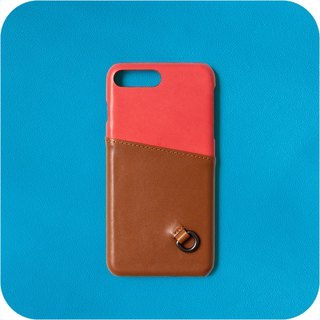Patina Handmade Mobile Shell LC55 Sensing Card Inside and Out Leather iPhone Exclusive