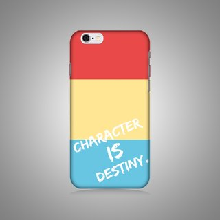 """Shell"" series - Character is destiny original phone shell / protective sleeve (hard shell) iPhone / Samsung / HTC / Sony / LG"