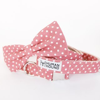 LIGHT RED POLKA DOTS