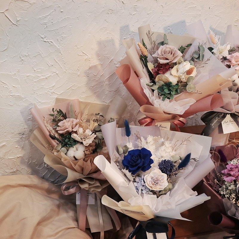 【遇見恆久】職人花藝系列-不凋花花藝設計【1人成班】