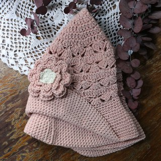 Handmade - Summer Scrub - Cotton Lady Hat - Hand Knit - Travel/Light Travel/Birthday Present/ Careful