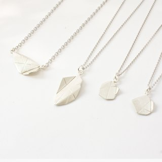 Origami Jewel Necklace