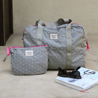(Mercerized series) Fanny Travel Bag-Grey_100420-02