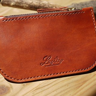 Leather Purse wallet brown leather carry