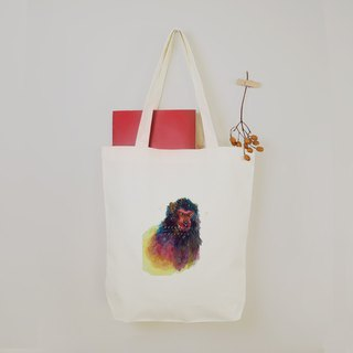 [I love Taiwan] Taiwan macaque canvas tote bag