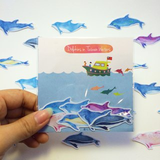 Dolphin Stickers in Taiwan * Kuroshio Cooperative Products