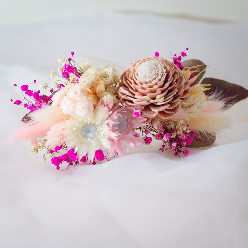 Bride's Blessing - Bridesmaids Wrist Flowers - Girls' Hearts