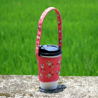 Beverage cup bag - Superwoman