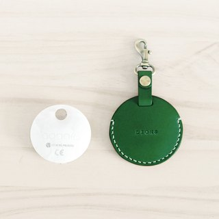 LION's Handmade Leather – gogoro Key Ring Key Leather Can (Jungle Green)